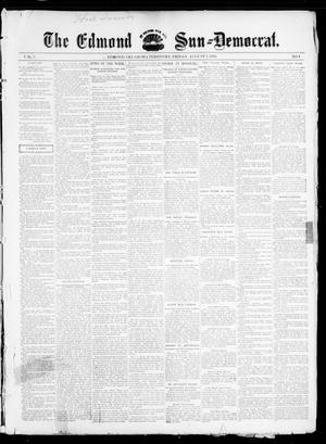 Primary view of object titled 'The Edmond Sun--Democrat. (Edmond, Okla. Terr.), Vol. 7, No. 4, Ed. 1 Friday, August 2, 1895'.