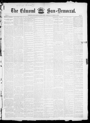 Primary view of object titled 'The Edmond Sun--Democrat. (Edmond, Okla. Terr.), Vol. 7, No. 16, Ed. 1 Friday, October 25, 1895'.