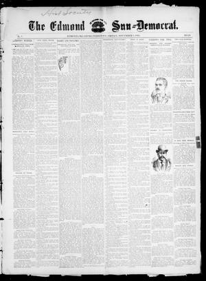 Primary view of object titled 'The Edmond Sun--Democrat. (Edmond, Okla. Terr.), Vol. 7, No. 18, Ed. 1 Friday, November 8, 1895'.