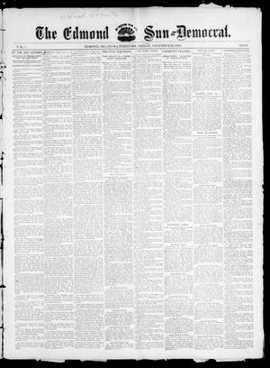 Primary view of object titled 'The Edmond Sun--Democrat. (Edmond, Okla. Terr.), Vol. 7, No. 19, Ed. 1 Friday, November 15, 1895'.