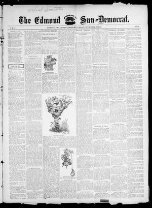Primary view of object titled 'The Edmond Sun--Democrat. (Edmond, Okla. Terr.), Vol. 7, No. 21, Ed. 1 Friday, November 29, 1895'.