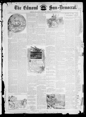 Primary view of object titled 'The Edmond Sun--Democrat. (Edmond, Okla. Terr.), Vol. 7, No. 24, Ed. 1 Friday, December 20, 1895'.