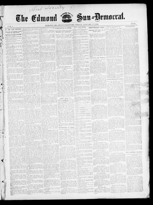 Primary view of object titled 'The Edmond Sun--Democrat. (Edmond, Okla. Terr.), Vol. 7, No. 28, Ed. 1 Friday, January 17, 1896'.