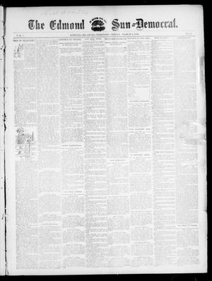 Primary view of object titled 'The Edmond Sun--Democrat. (Edmond, Okla. Terr.), Vol. 7, No. 35, Ed. 1 Friday, March 6, 1896'.