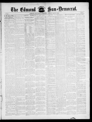 Primary view of object titled 'The Edmond Sun--Democrat. (Edmond, Okla. Terr.), Vol. 7, No. 44, Ed. 1 Friday, May 8, 1896'.