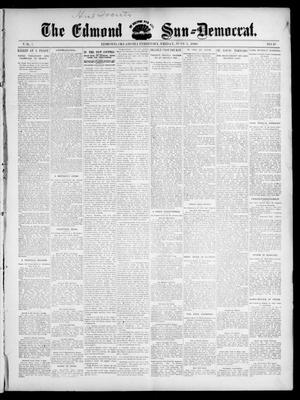 Primary view of object titled 'The Edmond Sun--Democrat. (Edmond, Okla. Terr.), Vol. 7, No. 48, Ed. 1 Friday, June 5, 1896'.