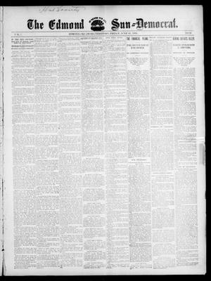 Primary view of object titled 'The Edmond Sun--Democrat. (Edmond, Okla. Terr.), Vol. 7, No. 50, Ed. 1 Friday, June 19, 1896'.