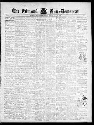 Primary view of object titled 'The Edmond Sun--Democrat. (Edmond, Okla. Terr.), Vol. 8, No. 3, Ed. 1 Friday, July 24, 1896'.