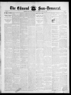 Primary view of object titled 'The Edmond Sun--Democrat. (Edmond, Okla. Terr.), Vol. 8, No. 4, Ed. 1 Friday, July 31, 1896'.