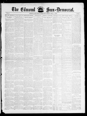 Primary view of object titled 'The Edmond Sun--Democrat. (Edmond, Okla. Terr.), Vol. 8, No. 22, Ed. 1 Friday, December 4, 1896'.