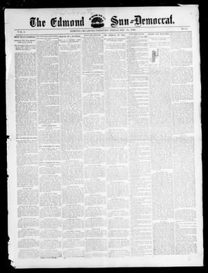 Primary view of object titled 'The Edmond Sun--Democrat. (Edmond, Okla. Terr.), Vol. 8, No. 24, Ed. 1 Friday, December 18, 1896'.