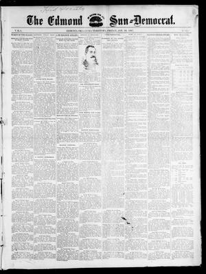 Primary view of object titled 'The Edmond Sun--Democrat. (Edmond, Okla. Terr.), Vol. 8, No. 30, Ed. 1 Friday, January 29, 1897'.