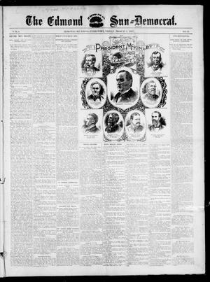 Primary view of object titled 'The Edmond Sun--Democrat. (Edmond, Okla. Terr.), Vol. 8, No. 35, Ed. 1 Friday, March 5, 1897'.