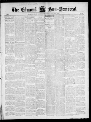 Primary view of object titled 'The Edmond Sun--Democrat. (Edmond, Okla. Terr.), Vol. 8, No. 36, Ed. 1 Friday, March 12, 1897'.