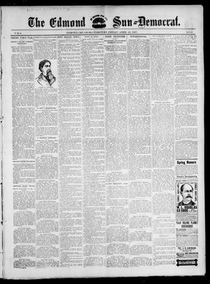 Primary view of object titled 'The Edmond Sun--Democrat. (Edmond, Okla. Terr.), Vol. 8, No. 41, Ed. 1 Friday, April 16, 1897'.