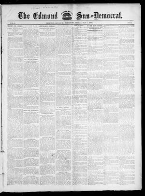 Primary view of object titled 'The Edmond Sun--Democrat. (Edmond, Okla. Terr.), Vol. 8, No. 44, Ed. 1 Friday, May 7, 1897'.