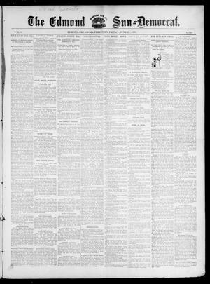 Primary view of object titled 'The Edmond Sun--Democrat. (Edmond, Okla. Terr.), Vol. 8, No. 49, Ed. 1 Friday, June 11, 1897'.