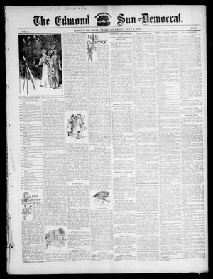 Primary view of object titled 'The Edmond Sun--Democrat. (Edmond, Okla. Terr.), Vol. 8, No. 52, Ed. 1 Friday, July 2, 1897'.