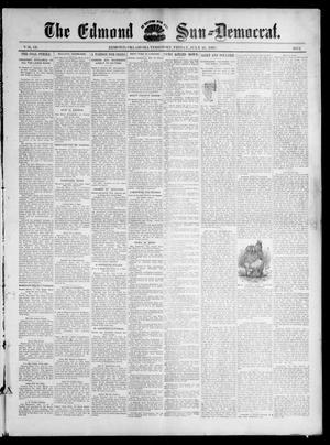 Primary view of object titled 'The Edmond Sun--Democrat. (Edmond, Okla. Terr.), Vol. 9, No. 2, Ed. 1 Friday, July 16, 1897'.