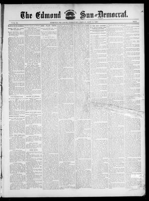 Primary view of object titled 'The Edmond Sun--Democrat. (Edmond, Okla. Terr.), Vol. 9, No. 9, Ed. 1 Friday, September 3, 1897'.
