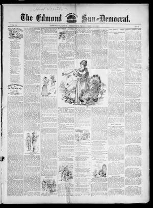 Primary view of object titled 'The Edmond Sun--Democrat. (Edmond, Okla. Terr.), Vol. 9, No. 21, Ed. 1 Friday, November 26, 1897'.