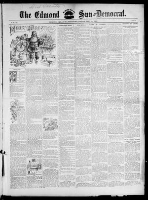 Primary view of object titled 'The Edmond Sun--Democrat. (Edmond, Okla. Terr.), Vol. 9, No. 25, Ed. 1 Friday, December 24, 1897'.
