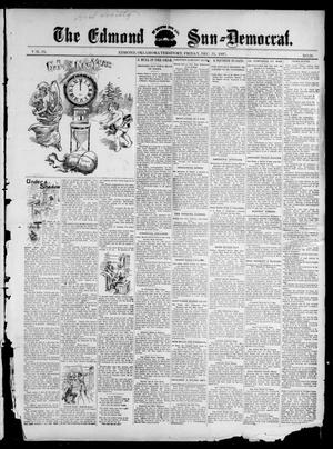 Primary view of object titled 'The Edmond Sun--Democrat. (Edmond, Okla. Terr.), Vol. 9, No. 26, Ed. 1 Friday, December 31, 1897'.