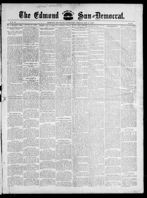Primary view of object titled 'The Edmond Sun--Democrat. (Edmond, Okla. Terr.), Vol. 9, No. 31, Ed. 1 Friday, February 4, 1898'.