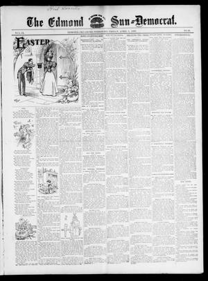 Primary view of object titled 'The Edmond Sun--Democrat. (Edmond, Okla. Terr.), Vol. 9, No. 40, Ed. 1 Friday, April 8, 1898'.