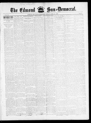 Primary view of object titled 'The Edmond Sun--Democrat. (Edmond, Okla. Terr.), Vol. 9, No. 42, Ed. 1 Friday, April 22, 1898'.