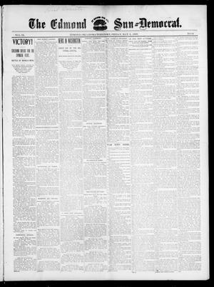 Primary view of object titled 'The Edmond Sun--Democrat. (Edmond, Okla. Terr.), Vol. 9, No. 44, Ed. 1 Friday, May 6, 1898'.