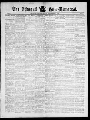 Primary view of object titled 'The Edmond Sun--Democrat. (Edmond, Okla. Terr.), Vol. 9, No. 45, Ed. 1 Friday, May 13, 1898'.