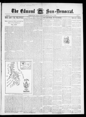Primary view of object titled 'The Edmond Sun--Democrat. (Edmond, Okla. Terr.), Vol. 10, No. 5, Ed. 1 Friday, August 5, 1898'.