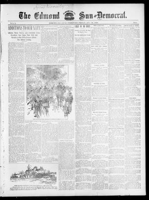 Primary view of object titled 'The Edmond Sun--Democrat. (Edmond, Okla. Terr.), Vol. 10, No. 8, Ed. 1 Friday, August 26, 1898'.