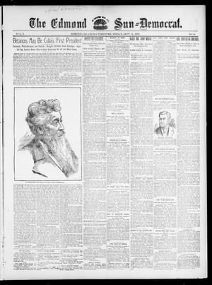 Primary view of object titled 'The Edmond Sun--Democrat. (Edmond, Okla. Terr.), Vol. 10, No. 10, Ed. 1 Friday, September 9, 1898'.