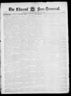 Primary view of object titled 'The Edmond Sun--Democrat. (Edmond, Okla. Terr.), Vol. 10, No. 31, Ed. 1 Friday, February 3, 1899'.