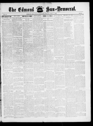 Primary view of object titled 'The Edmond Sun--Democrat. (Edmond, Okla. Terr.), Vol. 10, No. 48, Ed. 1 Friday, June 2, 1899'.
