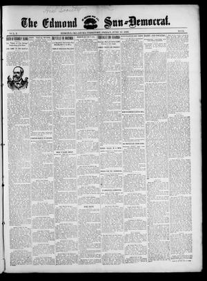 Primary view of object titled 'The Edmond Sun--Democrat. (Edmond, Okla. Terr.), Vol. 10, No. 51, Ed. 1 Friday, June 23, 1899'.