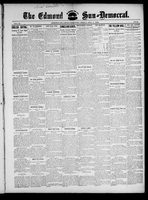 Primary view of object titled 'The Edmond Sun--Democrat. (Edmond, Okla. Terr.), Vol. 11, No. 10, Ed. 1 Friday, September 8, 1899'.