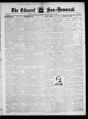 Primary view of object titled 'The Edmond Sun--Democrat. (Edmond, Okla. Terr.), Vol. 11, No. 12, Ed. 1 Friday, September 22, 1899'.