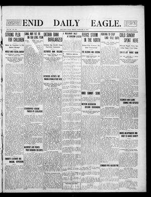 Primary view of object titled 'Enid Daily Eagle. (Enid, Okla.), Vol. 8, No. 121, Ed. 1 Monday, February 15, 1909'.