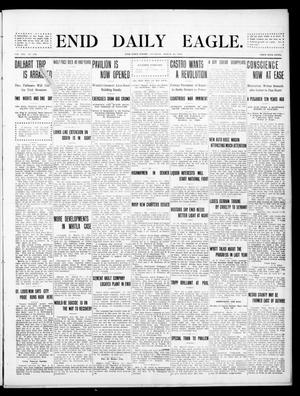 Primary view of Enid Daily Eagle. (Enid, Okla.), Vol. 8, No. 154, Ed. 1 Thursday, March 25, 1909