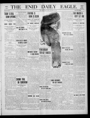 Primary view of object titled 'The Enid Daily Eagle. (Enid, Okla.), Vol. 9, No. 63, Ed. 1 Sunday, December 12, 1909'.