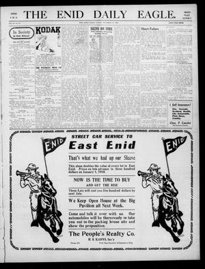 Primary view of object titled 'The Enid Daily Eagle. (Enid, Okla.), Vol. 9, No. 63, Ed. 2 Sunday, December 12, 1909'.