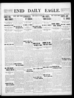 Primary view of object titled 'Enid Daily Eagle. (Enid, Okla.), Vol. 8, No. 149, Ed. 1 Friday, March 19, 1909'.