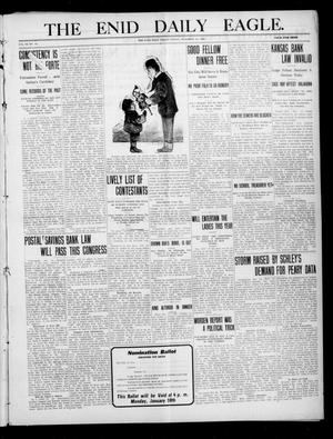 Primary view of The Enid Daily Eagle. (Enid, Okla.), Vol. 9, No. 74, Ed. 1 Friday, December 24, 1909
