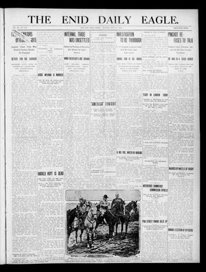 Primary view of object titled 'The Enid Daily Eagle. (Enid, Okla.), Vol. 9, No. 235, Ed. 1 Tuesday, May 31, 1910'.