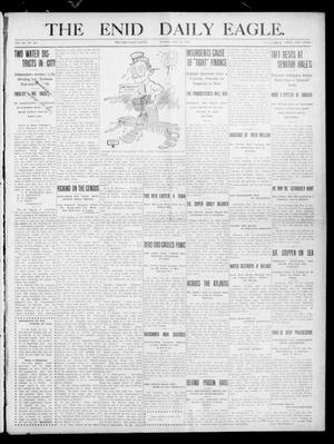 Primary view of The Enid Daily Eagle. (Enid, Okla.), Vol. 9, No. 282, Ed. 1 Sunday, July 24, 1910