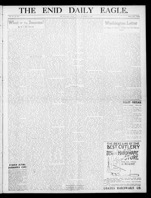 Primary view of object titled 'The Enid Daily Eagle. (Enid, Okla.), Vol. 9, No. 336, Ed. 2 Sunday, September 25, 1910'.
