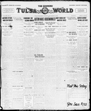 Primary view of object titled 'The Morning Tulsa Daily World (Tulsa, Okla.), Vol. 14, No. 92, Ed. 1 Monday, December 29, 1919'.